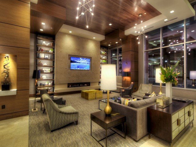 Image of 24-Hour Staffed Lobby for One Light Luxury Apartments