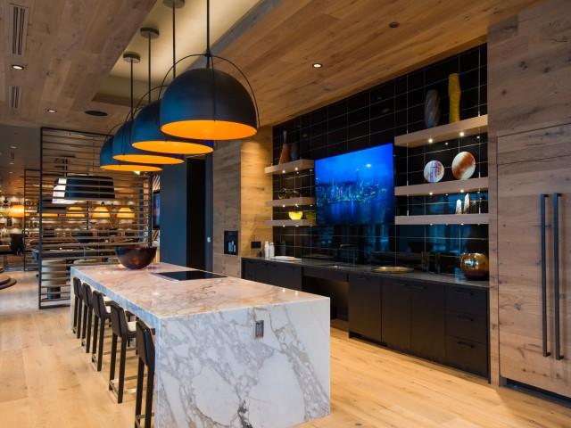 Entertainment Kitchen