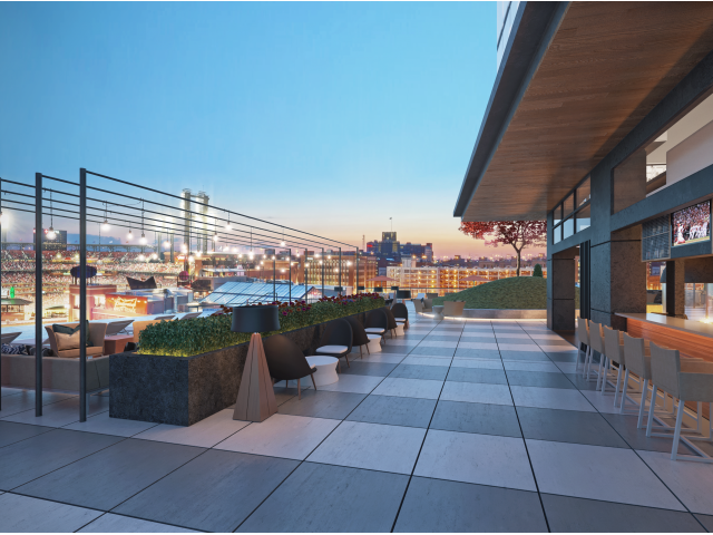 Image of Rooftop Cabanas & Sundeck for One Cardinal Way