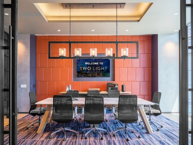 Image of Business Center & Conference Room for Two Light Luxury Apartments