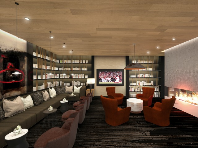 Image of Entertainment Lounge for One Cardinal Way