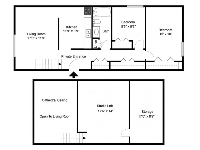 0 For The Three Bedroom Floor Plan
