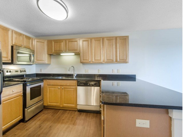 Image of Granite countertops with select units for Andover Place Apartment Homes