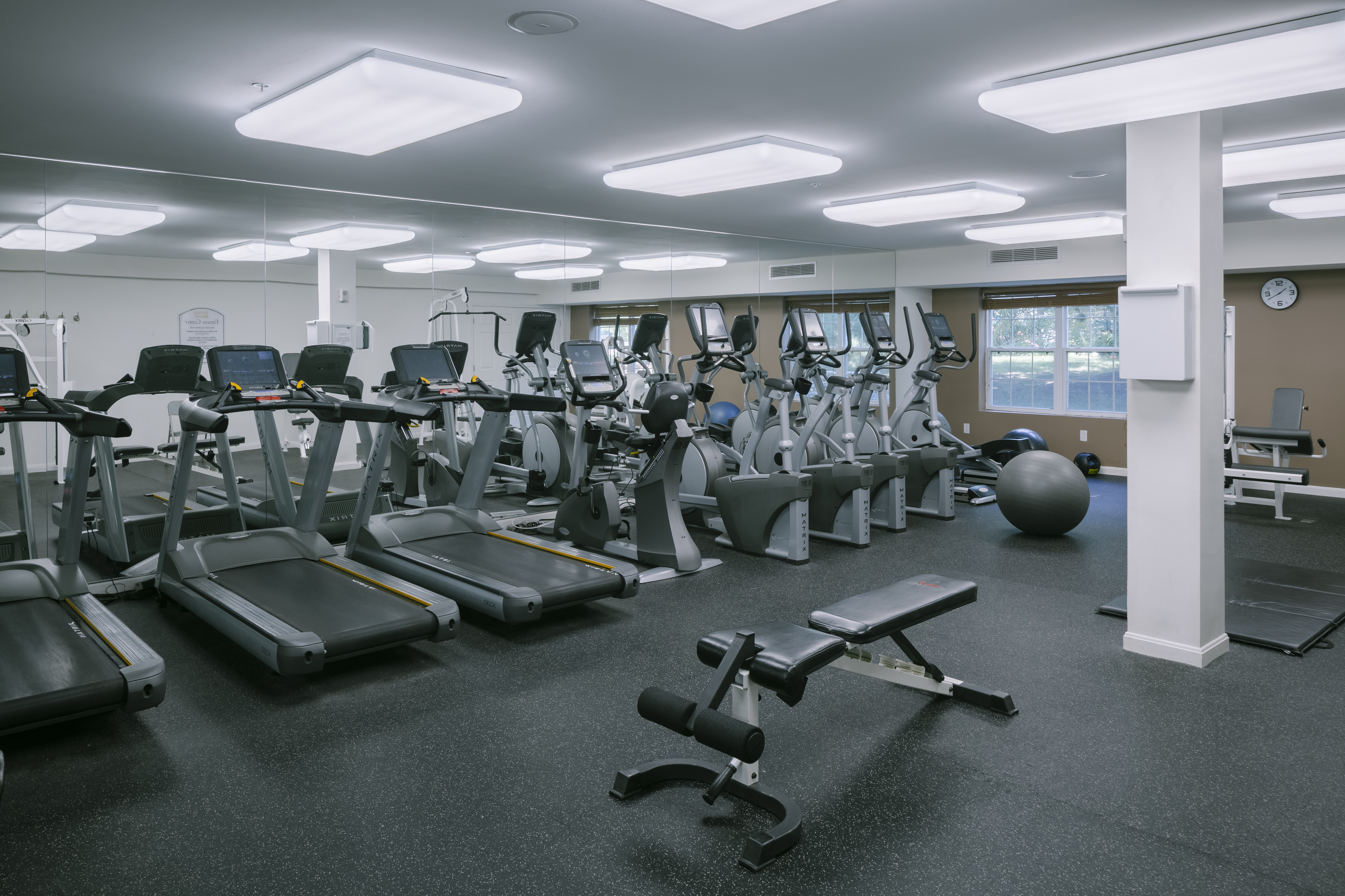 Image of Modern fitness center with cardio &strength equipment for Vinnin Square Apartment Homes