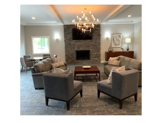 Image of Club House with Wood-Burning Fireplace for Yarmouth Pointe Apartment Homes