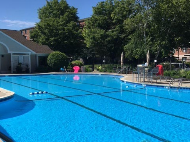 Image of Outdoor pool and sundeck for Andover Place Apartment Homes