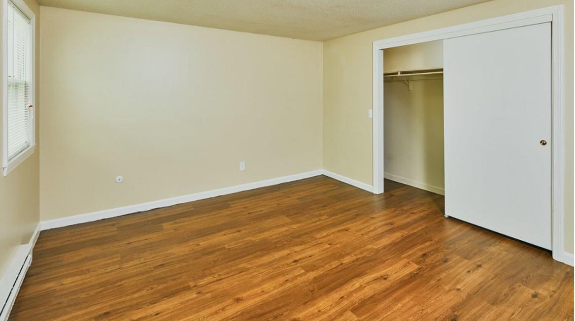 Vinyl Plank flooring (select units)
