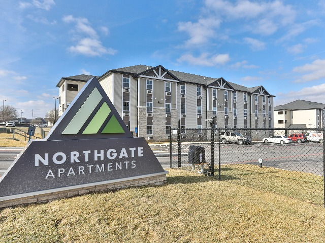 secure gated entry at northgate apartments in springfield mo