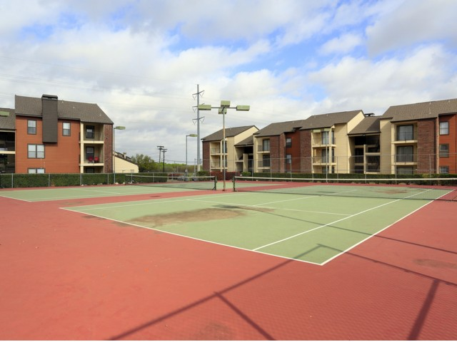 Image of Tennis Court for Bridgeport Apartments