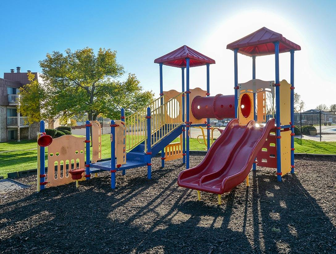 Enjoy our colorful playground!