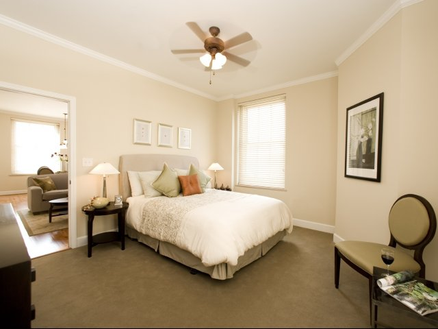 Image of Ceiling Fans for Nissen Building Apartments