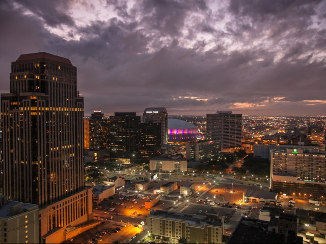 Image of Prime CBD Address:  Just Steps Away From Iconic Bourbon Street and the Canal Street Streetcar Line. for Hibernia Tower