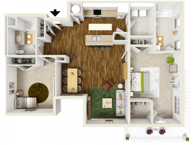 la apartments 2 bedroom. for the 2 bedroom apartment floor plan. la apartments e