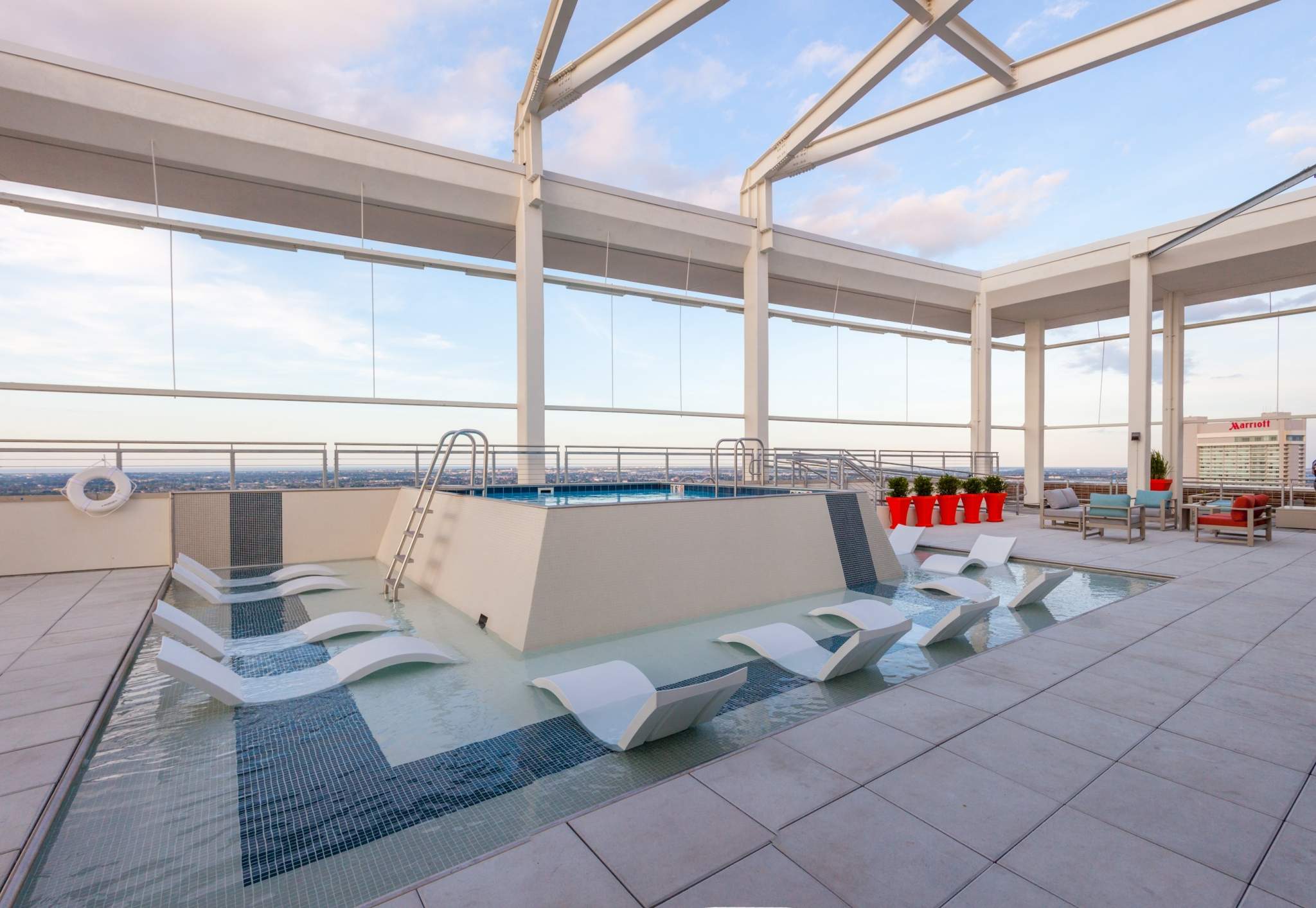 Pool on Roof at The Strand