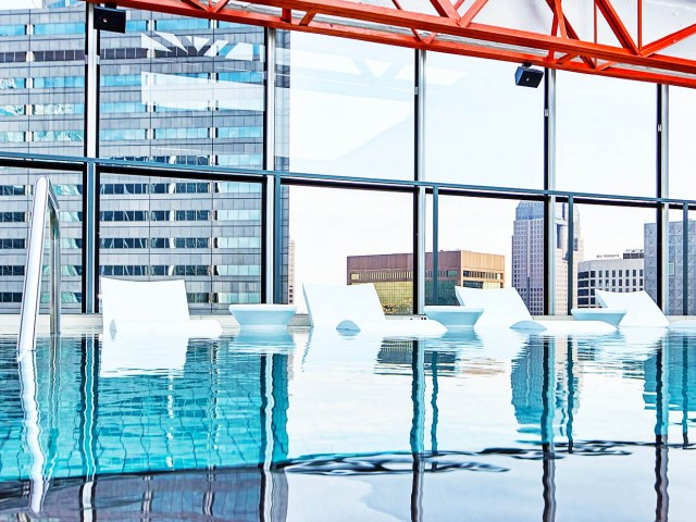 Rooftop Pool Dallas TX