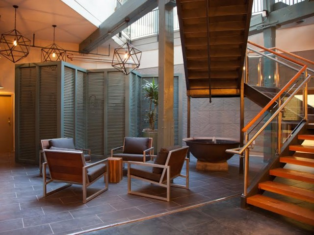 Courtyard - DH Holmes