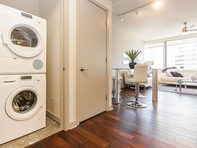Image of Ventless Full Size Washer / Dryer in Every Apartment for LTV Tower