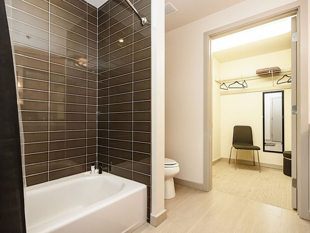 Image of Ceramic Tile in Bath Spaces for LTV Tower