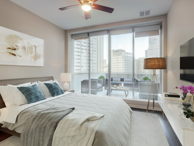 Amazing Cheap One Bedroom Apartments In Dallas Tx Part - 13: ... Impressive Floor-to-Ceiling Windows; Fitness Studio