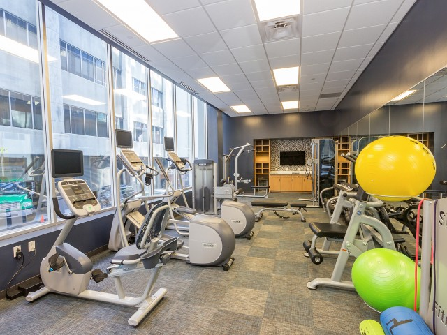 Image of Get Your Sweat on at Our State-Of-The-Art Fitness Studio Equipped with Cardio and Strength-Training Equipment for The Mayflower