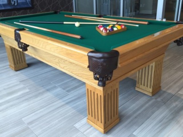 Image of Community Pool Table for LTV Tower
