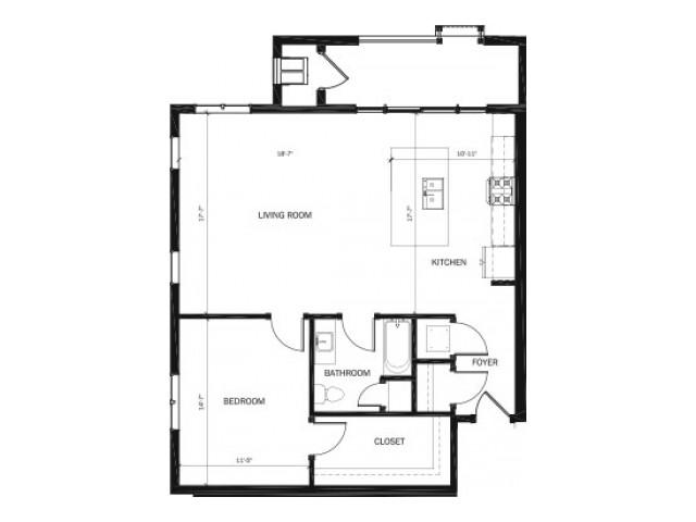 Buildings 1101 & 1121 – Units 101-201-301