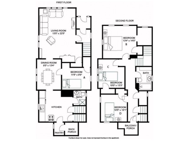 Gilman House Floorplan