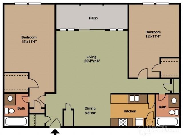 Floorplan 3 | Casa Del Sol