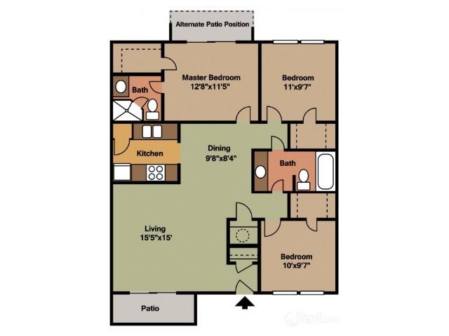 Floorplan 4 | Casa Del Sol