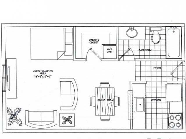 Floorplan 1 | Sunset Palms