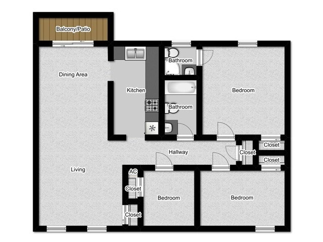 Floor Plan 1 | Park Square