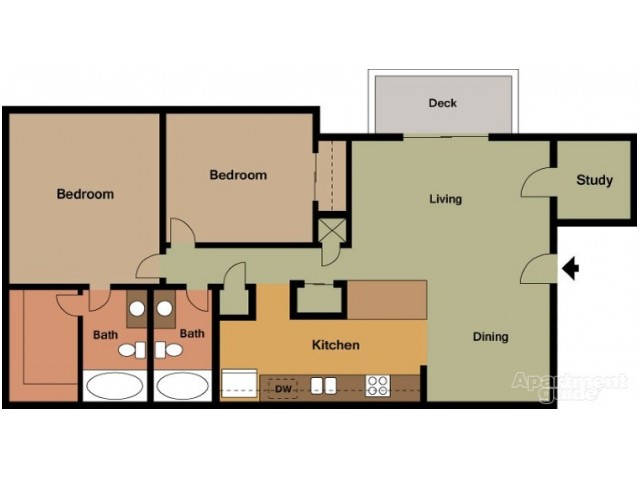 Floor Plan 2 | Peachtree Place