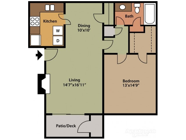 Floorplan 1 | St. Andrews