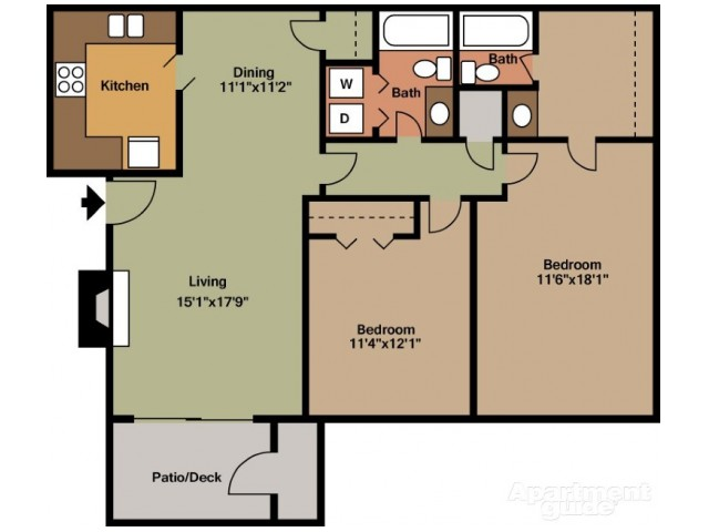 Floorplan 3 | St. Andrews