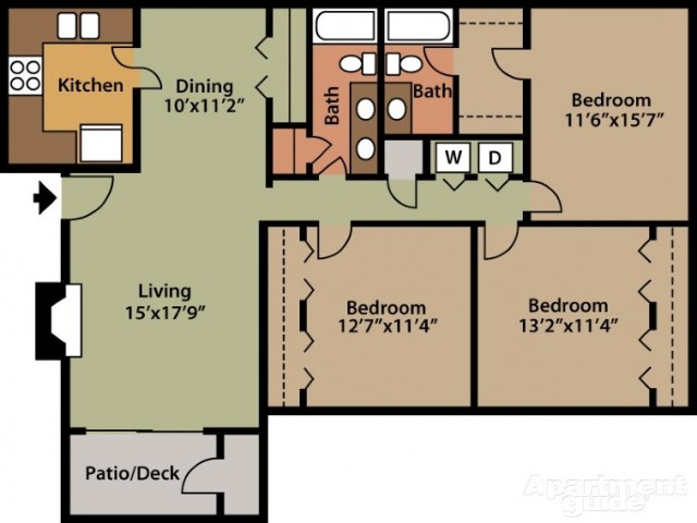 Floorplan 4 | St. Andrews