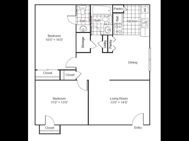 Floor Plans 4 | Park West
