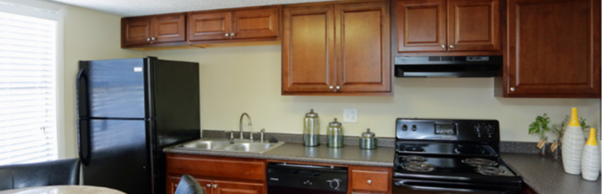 State-of-the-Art Kitchen | Birmingham Apartments For Rent | Olympia Village