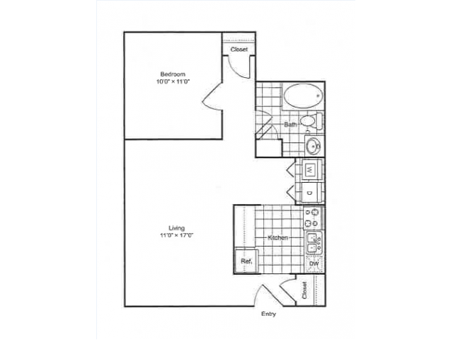 Floor Plan | 901 Center Station