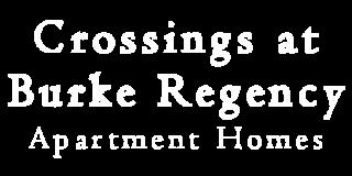 Crossings Burke Regency Logo   Apartment Pasadena TX   Crossings Burke Regency