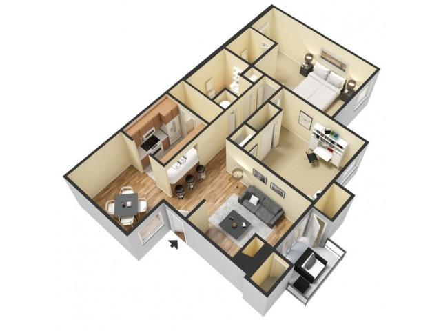 Floor Plan 7 | Rentals In Winter Springs FL | The Park at Laurel Oaks
