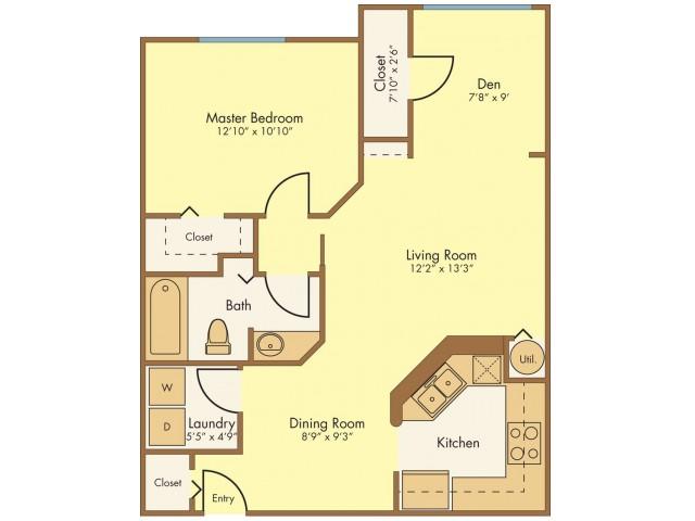 Floor Plan 1 | Mission Club