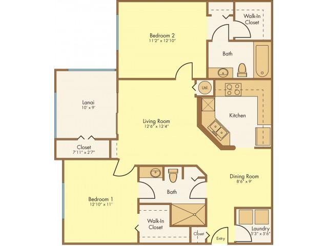 Floor Plan 3 | Mission Club