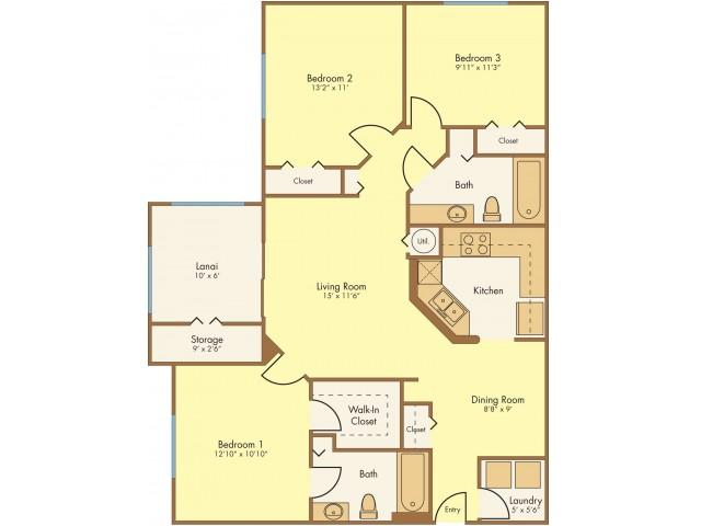 Floor Plan 5 | Mission Club