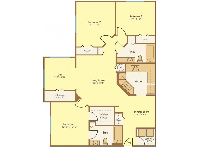 Floor Plan 6 | Mission Club