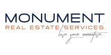 Monument Real Estate Services Logo | Apartments in Mount Prospect Illinois | The Residences at 1550