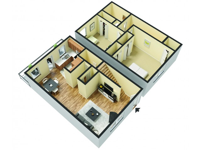 Floor Plans 1 | Magnolia Townhomes