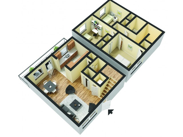 Floor Plans 2 | Magnolia Townhomes