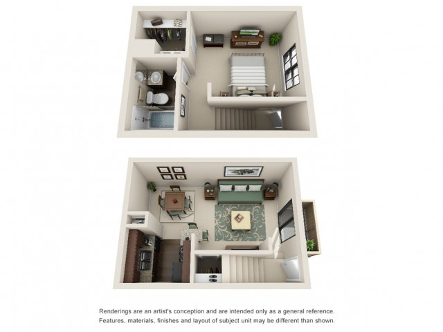 1 Bedroom Floor Plan   Woodforest Houston Apartments for Rent   Timber Run