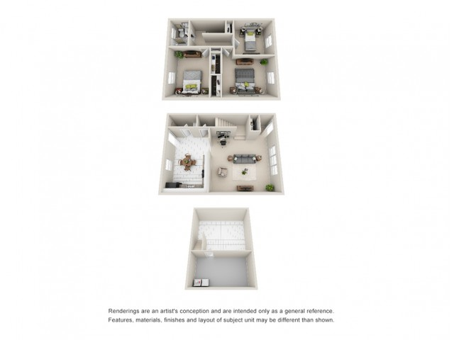 Floor Plan 8 | Apartments for Rent in Mount Prospect | The Residences at 1550