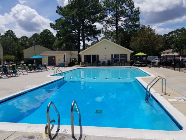 Swimming Pool | Apartment Homes in Jacksonville, NC | Brynn Marr Village